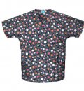 FILIPINA ESTAMPADA V-neck Tunic Lollipop D-Lollipop Dot